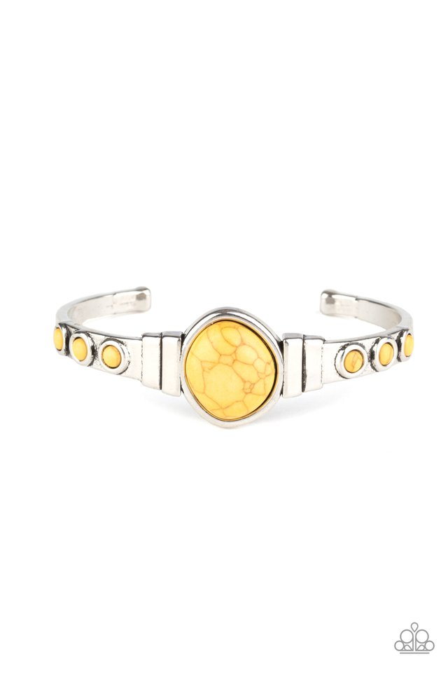 Paparazzi Bracelet ~ Spirit Guide - Yellow
