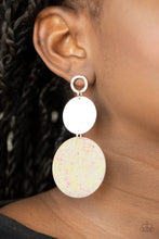 Load image into Gallery viewer, Beach Day Glow - Yellow - Paparazzi Earring Image