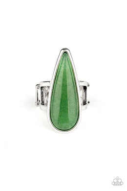 Spiritual Awakening - Green - Paparazzi Ring Image