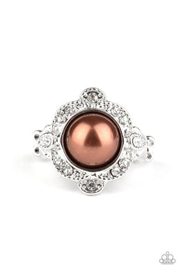 Ornamental Opulence - Brown - Paparazzi Ring Image