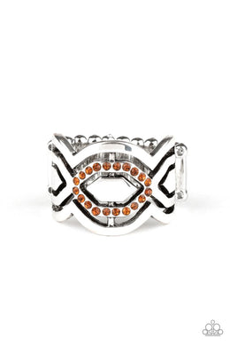 Divinely Deco - Brown - Paparazzi Ring Image
