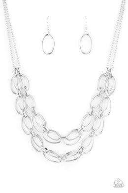 Status Quo - Silver - Paparazzi Necklace Image