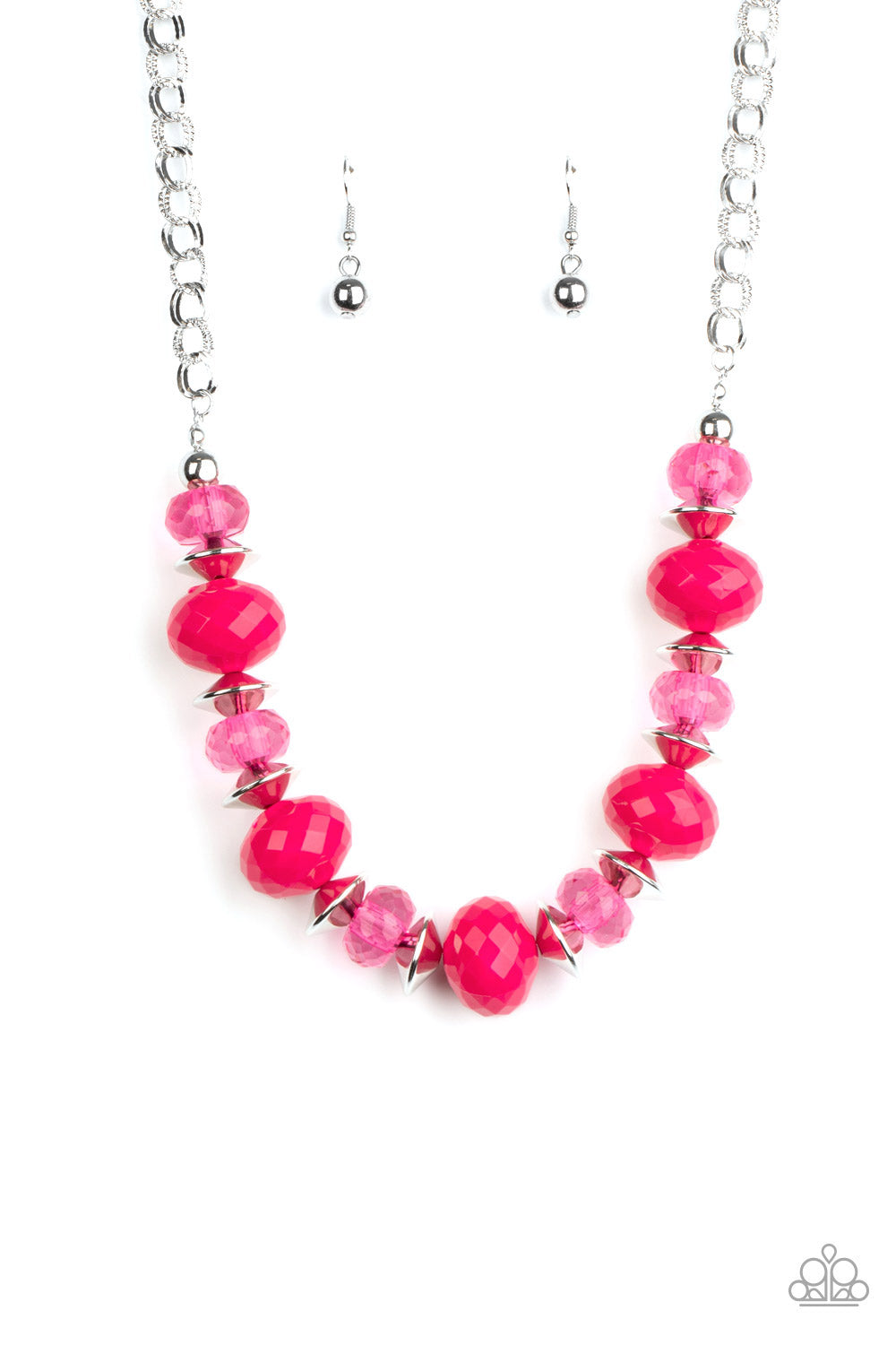 Paparazzi Necklace ~ Hollywood Gossip - Pink