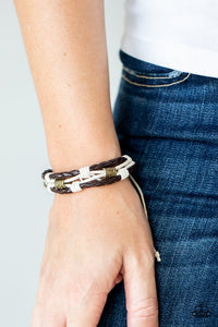 Really Rugged - Brown - Paparazzi Bracelet Image