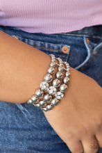 Load image into Gallery viewer, Icing On The Top - White - Paparazzi Bracelet Image