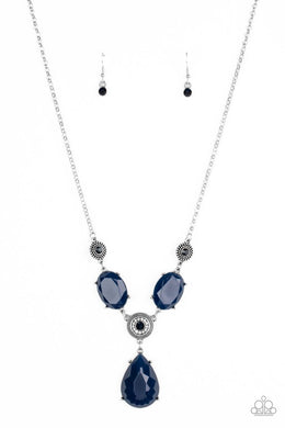Heirloom Hideaway - Blue - Paparazzi Necklace Image