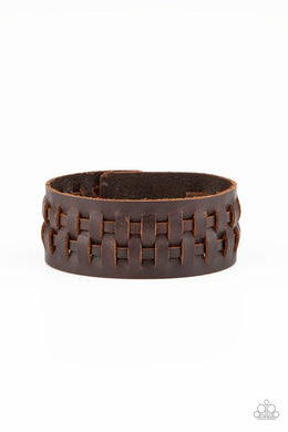 Country Life - Brown - Paparazzi Bracelet Image
