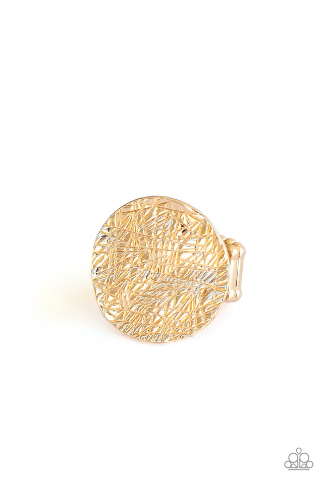 Paparazzi Ring ~ Lined Up - Gold