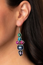 Load image into Gallery viewer, Look At Me GLOW! - Blue - Paparazzi Earring Image