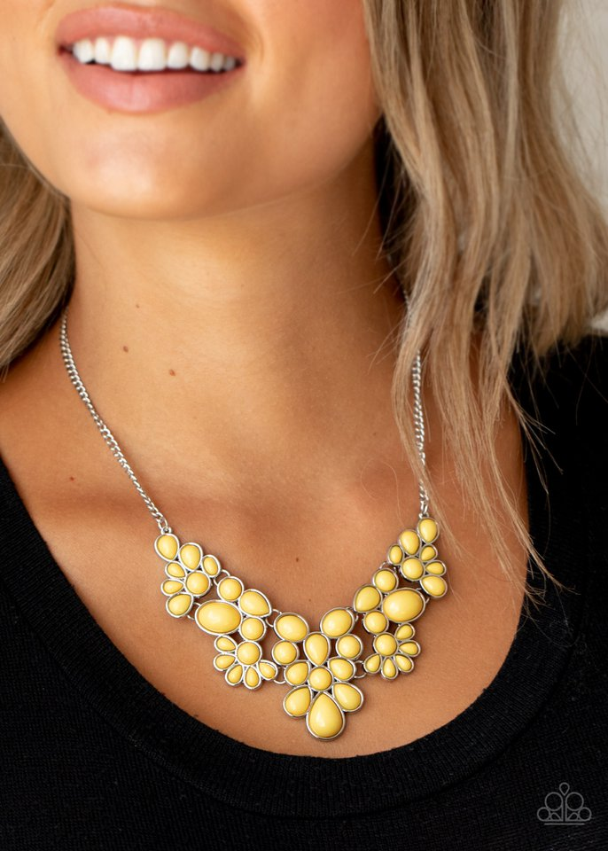 Paparazzi Necklace ~ Bohemian Banquet - Yellow