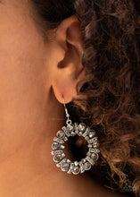 Load image into Gallery viewer, Baby, Its Cold Outside - Silver - Paparazzi Earring Image