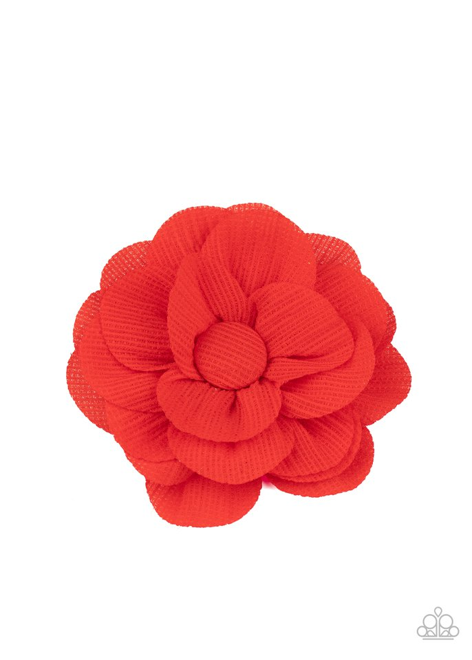 Summer Soiree - Red - Paparazzi Hair Accessories Image