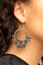 Load image into Gallery viewer, Eden Essence - Brass - Paparazzi Earring Image