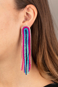 Let There BEAD Light - Multi - Paparazzi Earring Image