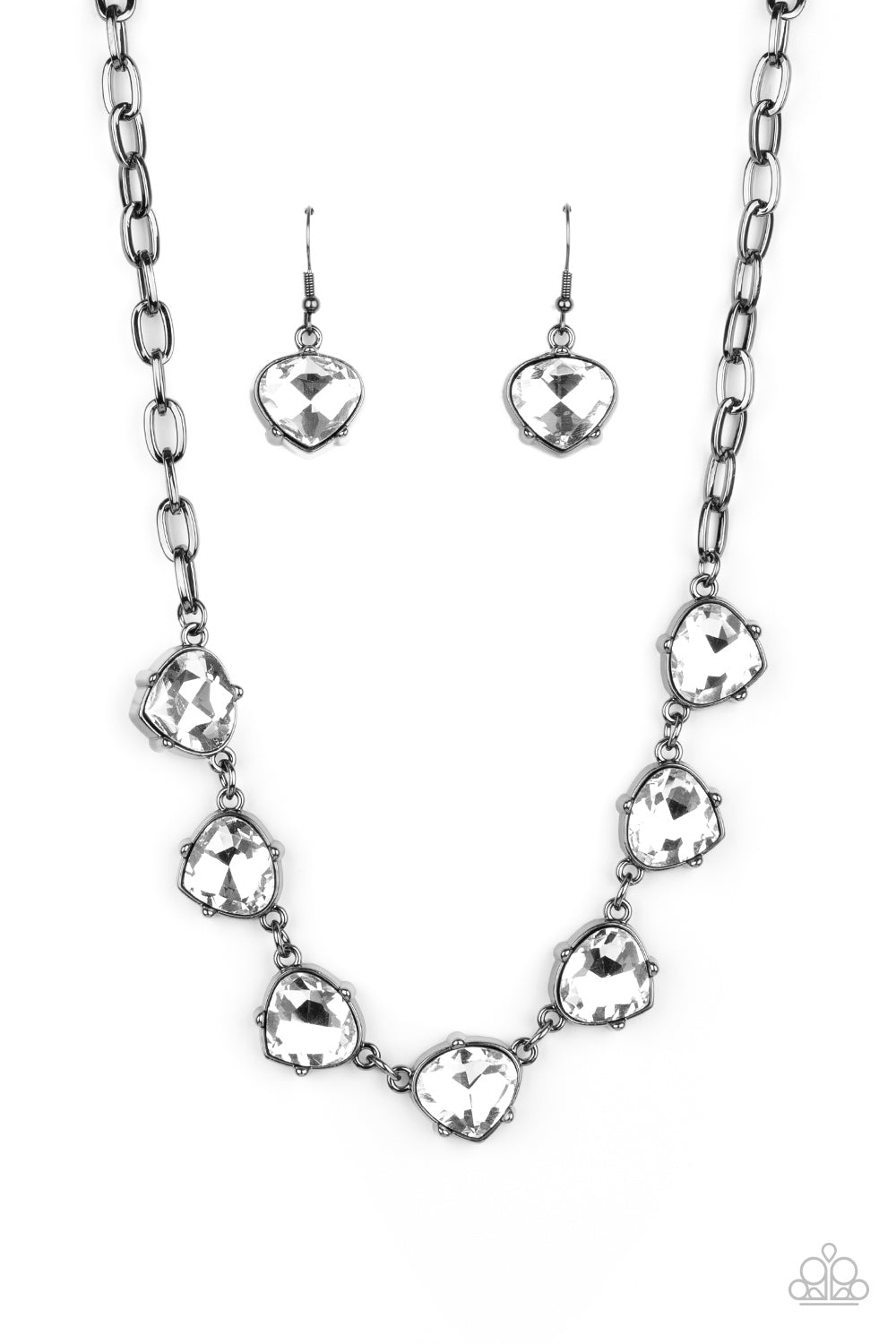 Paparazzi Necklace LOP Dec 2020 ~ Star Quality Sparkle - Black