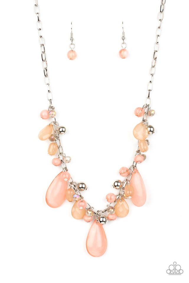 Paparazzi Necklace ~ Seaside Solstice - Pink