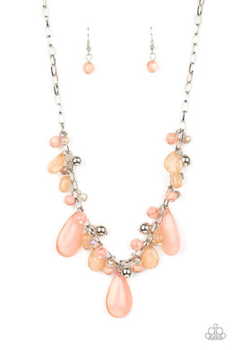 Seaside Solstice - Pink - Paparazzi Necklace Image