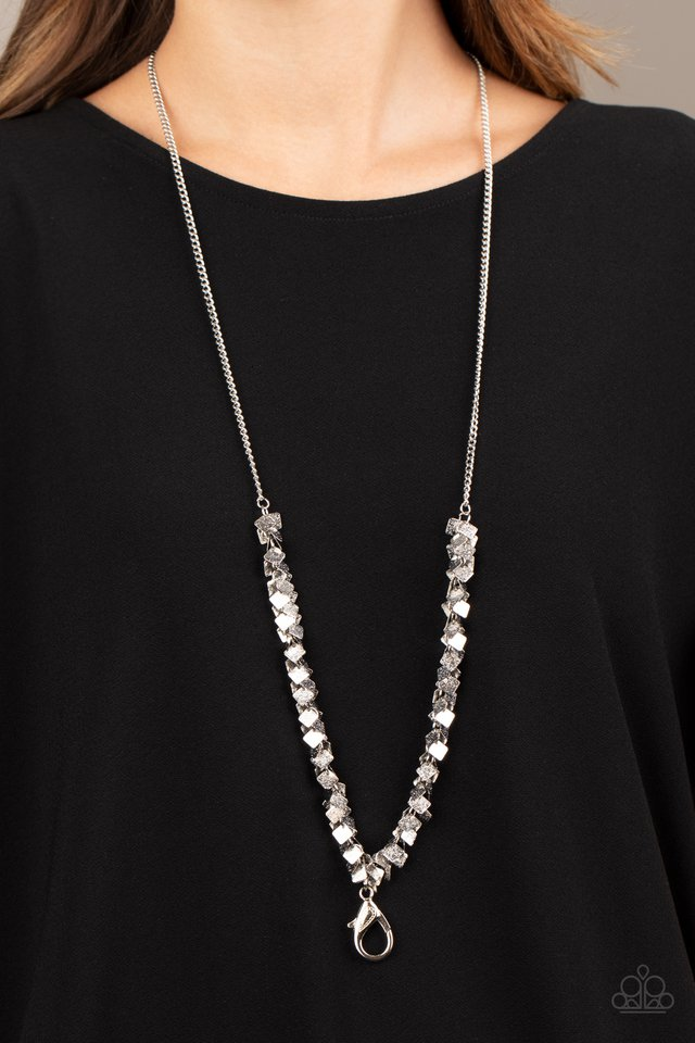 Paparazzi Necklace ~ Be Heard - Silver
