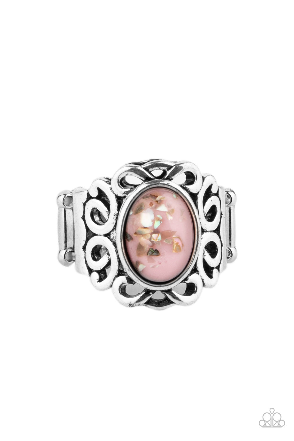 Paparazzi Ring ~ Straight to the POP! - Pink
