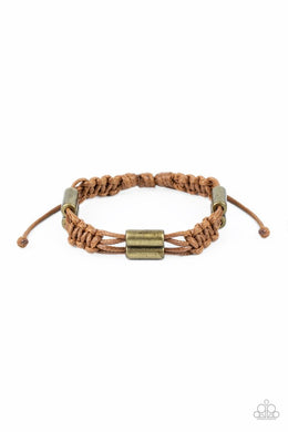 Always Adrift - Brown - Paparazzi Bracelet Image