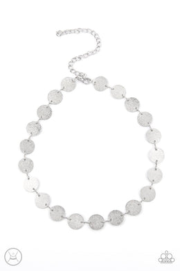 Reflection Detection - Silver - Paparazzi Necklace Image