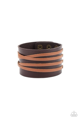 Pirate Plunder - Brown - Paparazzi Bracelet Image