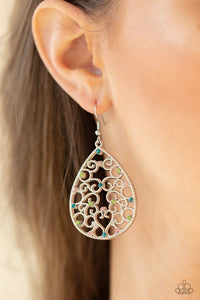 Midnight Carriage - Multi - Paparazzi Earring Image