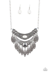 Paparazzi Necklace ~ Island Queen - White