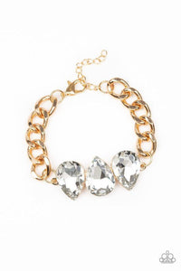 Paparazzi Bracelet ~ Bring Your Own Bling - Gold