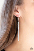 Load image into Gallery viewer, Paparazzi Earring ~ Award Show Attitude - White