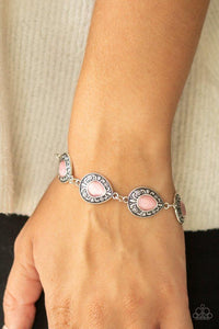 Paparazzi Bracelet ~ Enchantingly Ever After - Pink