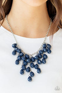Paparazzi Necklace ~ Serenely Scattered - Blue