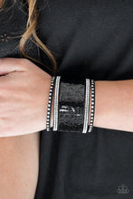 Load image into Gallery viewer, Paparazzi Bracelet ~ MERMAIDS Have More Fun - Black