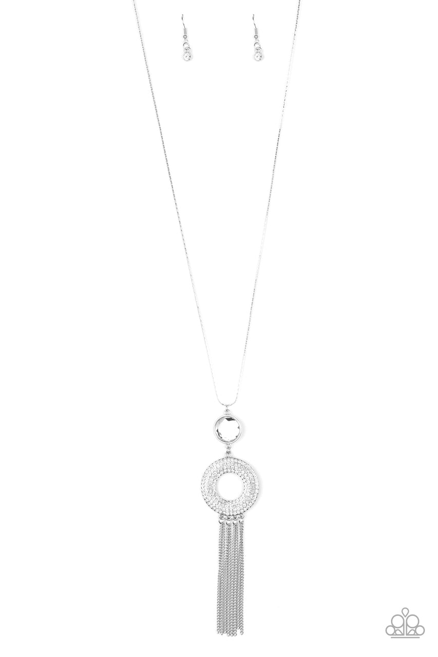 Paparazzi Necklace ~ Sassy As They Come - White