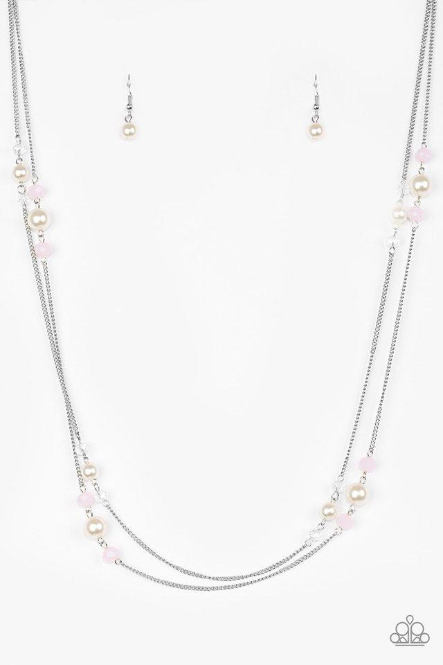 Paparazzi Necklace - Spring Splash - Pink
