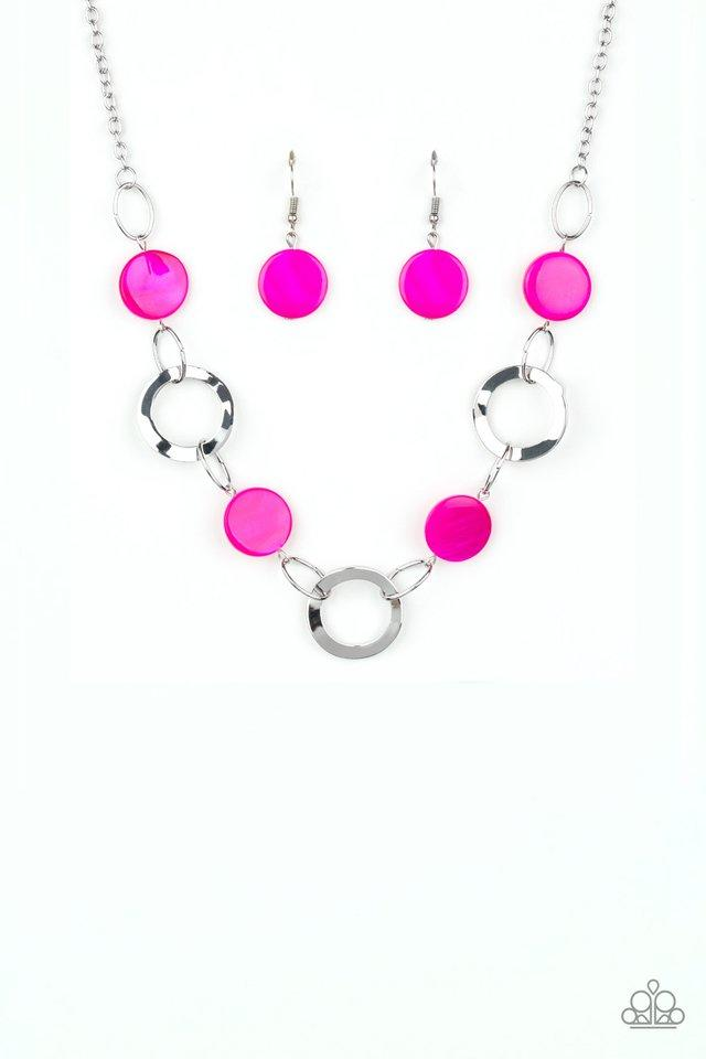 Paparazzi Accessories ~ Bermuda Bliss - Pink