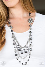 Load image into Gallery viewer, Paparazzi Necklace Blockbuster - All the Trimmings - Black
