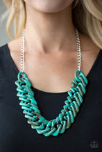 Load image into Gallery viewer, Paparazzi Necklace ~ Comin In HAUTE - Blue