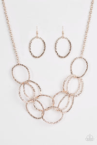 Paparazzi Accessories ~ Circus Royale - Rose Gold