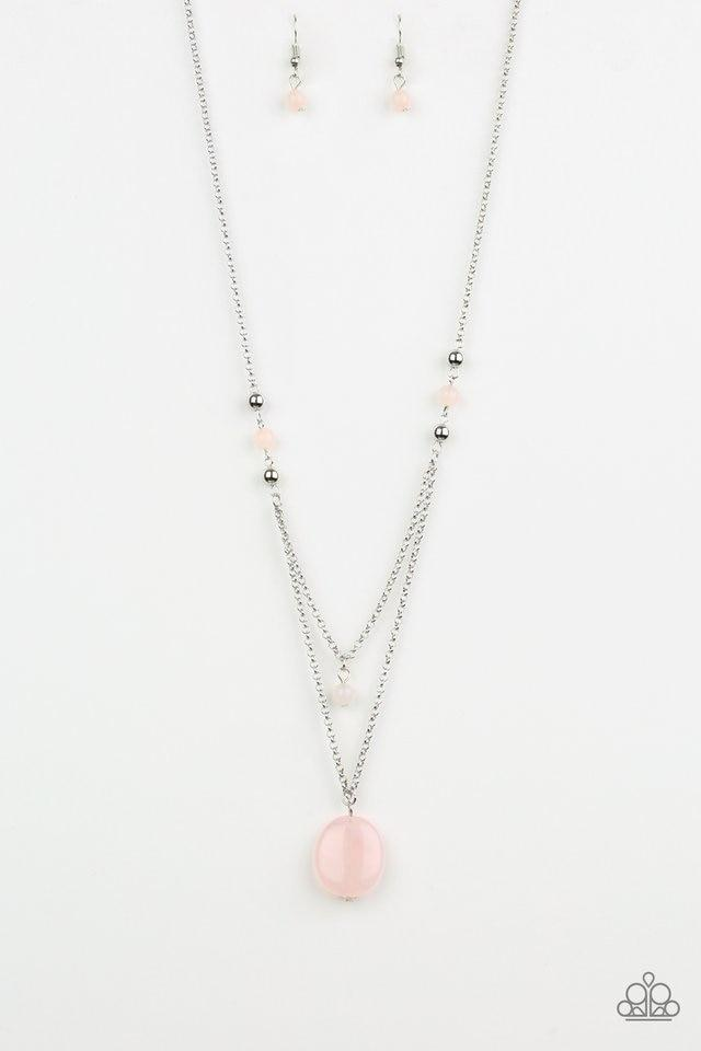 Paparazzi Necklace ~ Time To Hit The ROAM - Pink