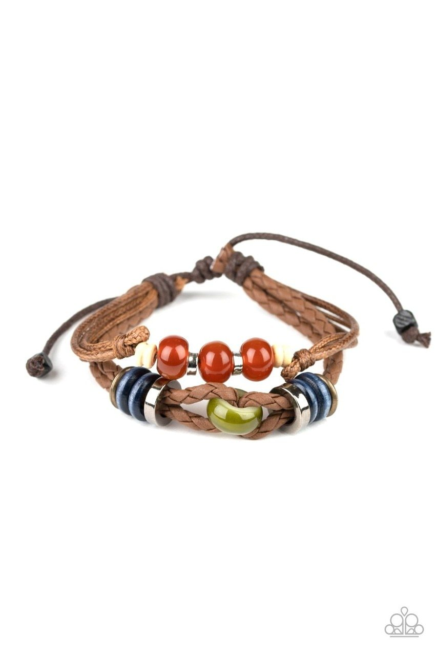 Paparazzi Bracelet ~ Uncharted Territory - Brown