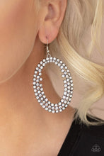Load image into Gallery viewer, Paparazzi Earring ~ Radical Razzle - White