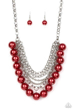 Load image into Gallery viewer, Paparazzi Necklace ~ One-Way WALL STREET - Red