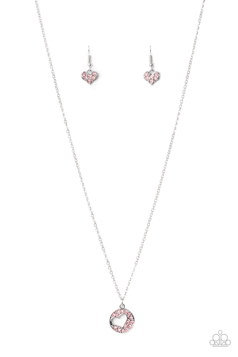 Paparazzi Necklace PREORDER ~ Bare Your Heart - Pink