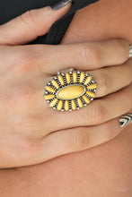Load image into Gallery viewer, Paparazzi Ring ~ Cactus Cabana - Yellow