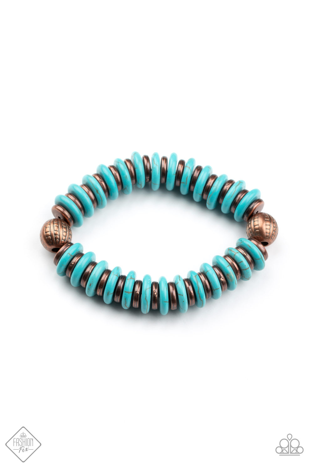 Paparazzi Bracelet ~ Eco Experience - Fashion Fix Nov 2020 - Copper