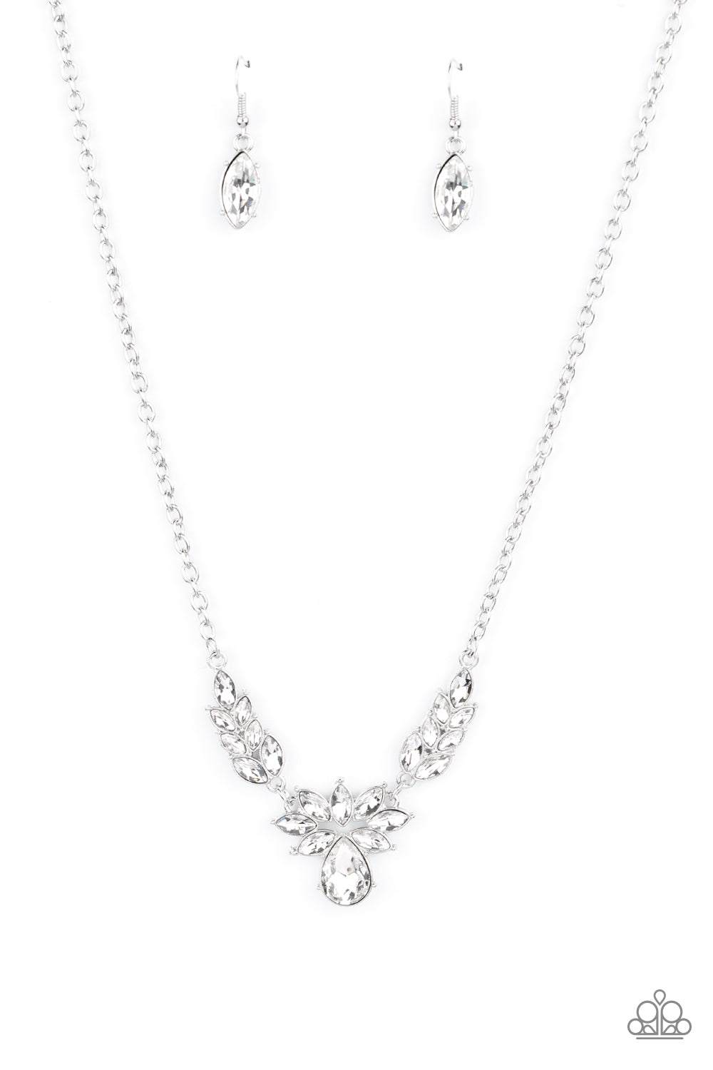 Paparazzi Necklace ~ I Need Some HEIR - White
