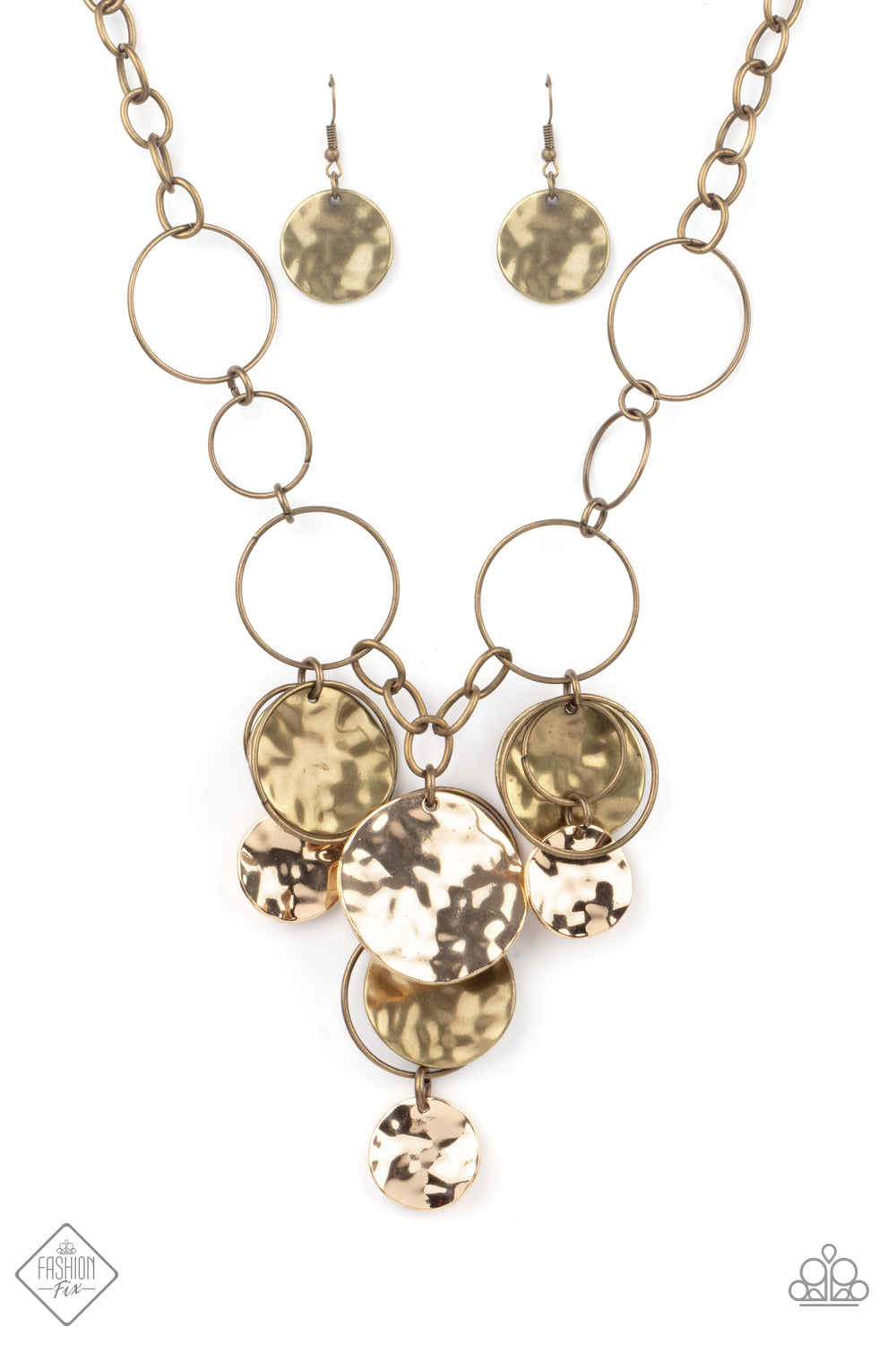 Paparazzi Necklace Fashion Fix Jan 2021 ~ Learn the HARDWARE Way - Brass