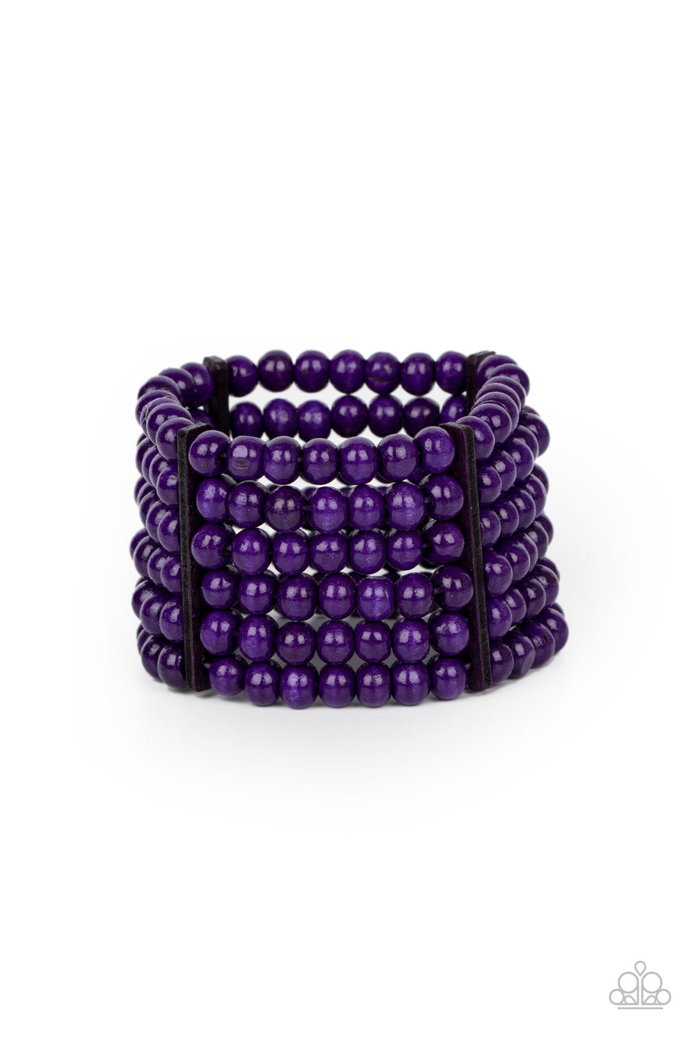 Paparazzi Bracelet ~ Tanning in Tanzania - Purple