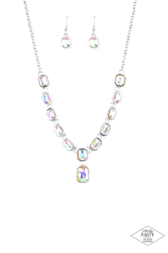 Paparazzi Necklace ~ The Right to Remain Sparkly - Multi
